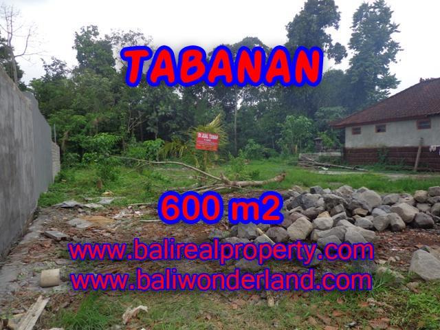 Land in Bali for sale, fantastic view in Tabanan Bali – TJTB087