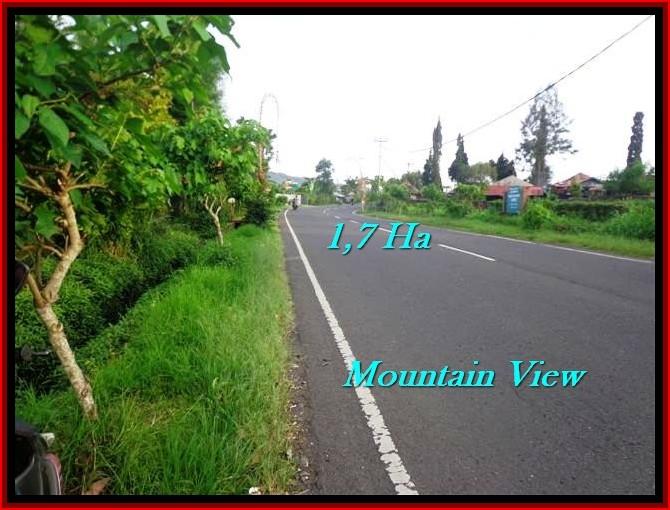 Beautiful PROPERTY Tabanan Bedugul 17,000 m2 LAND FOR SALE TJTB191