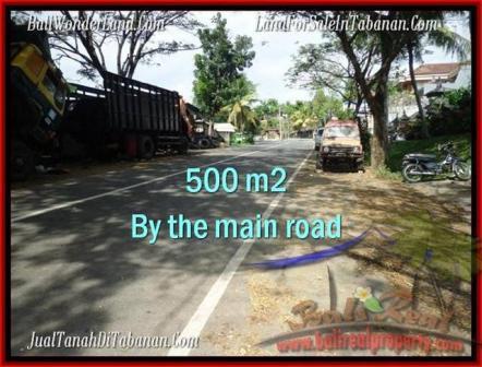 Beautiful 500 m2 LAND FOR SALE IN TABANAN BALI TJTB202