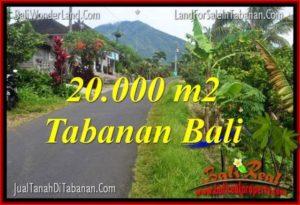 FOR SALE Exotic PROPERTY 20,000 m2 LAND IN Tabanan Penebel TJTB315