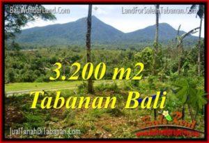 Exotic 3,200 m2 LAND IN TABANAN FOR SALE TJTB319