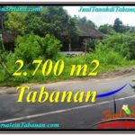 FOR SALE Affordable PROPERTY 2,700 m2 LAND IN TABANAN BALI TJTB299