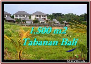 Magnificent PROPERTY 1,500 m2 LAND SALE IN Tabanan Selemadeg TJTB252