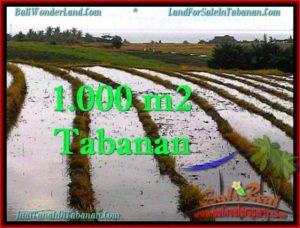 Affordable PROPERTY LAND IN TABANAN FOR SALE TJTB261