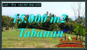 Magnificent PROPERTY LAND FOR SALE IN SELEMADEG BARAT BALI TJTB472