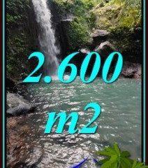 2,600 m2 LAND FOR SALE IN SELEMADEG BALI TJTB477